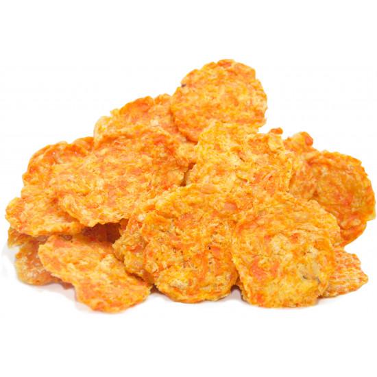 cannix chips de frango e legumes
