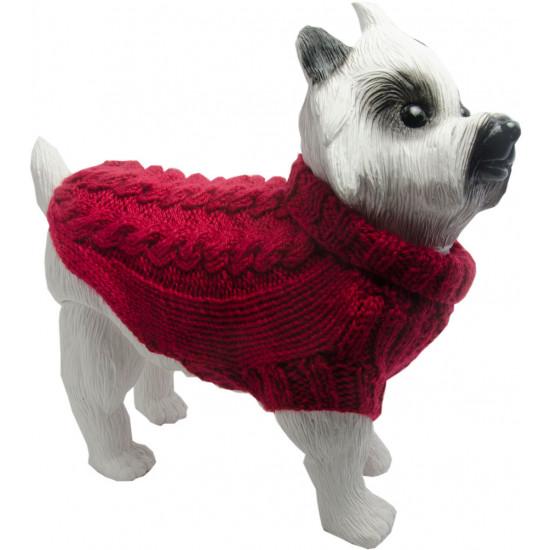 roupa para cachorro em trico