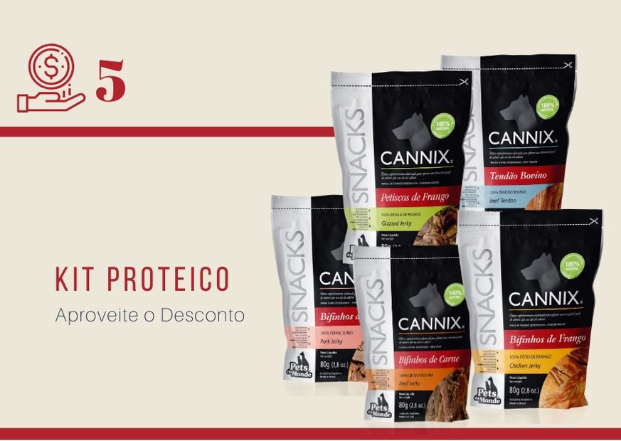 Kit Proteico Cannix