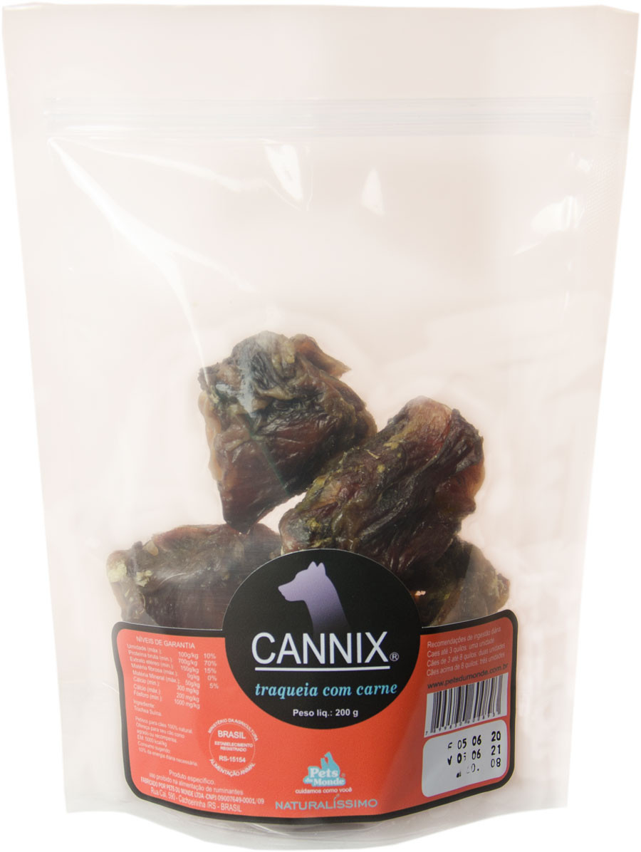 CANNIX TRAQUEIA COM CARNE  200 g