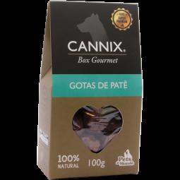 cannix gourmet gotas de patê 100 g