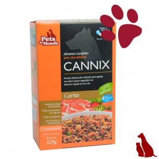 CANNIX ALIMENTO COMPLETO - Sabor Carne-225g
