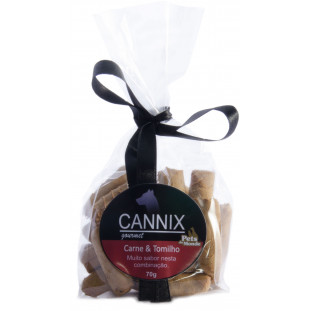 CANNIX GOURMET CARNE COM  TOMILHO 70 G