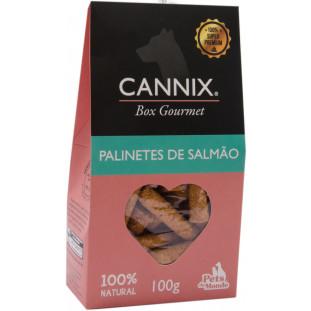 CANNIX GOURMET BOX PALINETES DE SALMAO 100 G