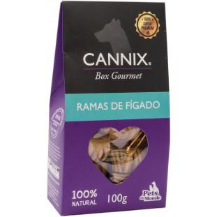 cannix gourmet mini ramas de figado 100 g